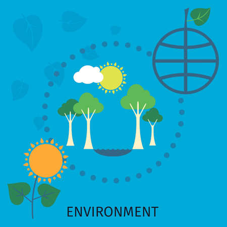 enviroment: Green city, enviroment and ecology