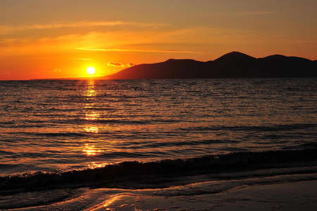 mourne: Mourne Mountain sunset