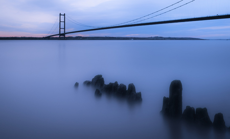 The Humber Bridge from Hessle Foreshore