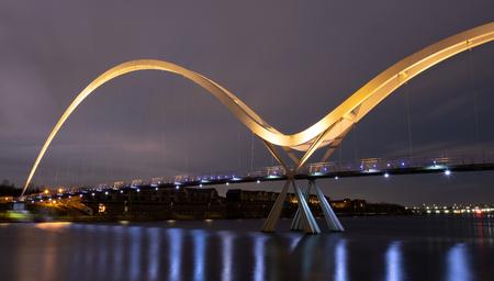 Infinity Bridge, Stockton-on-Tees, Teesside