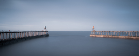 The Piers at Whitby, North Yorkshire