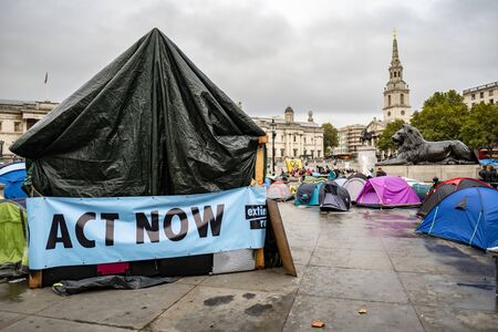Act Now, Extinction Rebellion, Trafalgar Square