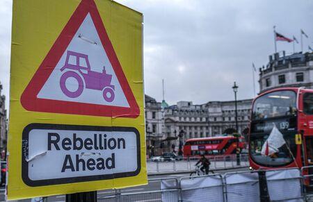 Rebellion Ahead, Extinction Rebellion, Trafalgar Square