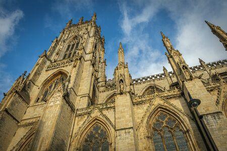 York Minster Gothic Cathedral, York, UK