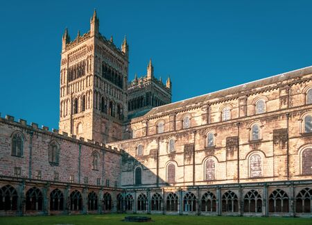 Durham Cathedral from the Cathedral Courtyard, Durham, England