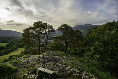Castlehead near Keswick, Lake District