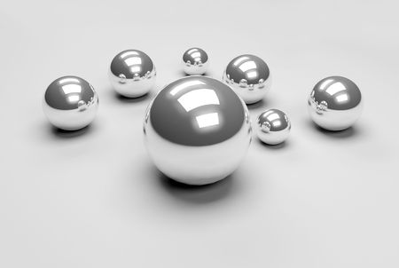 crome balls Stock Photo - 5679939