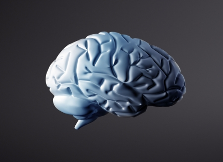 Brain background  Stock Photo
