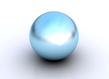 Blue pearl   Stock Photo