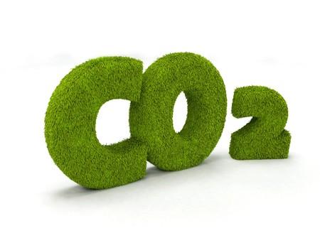 carbon monoxide: Co2 illustration isolated on white