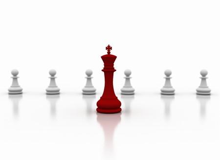 leadership key: Leadership - business concept