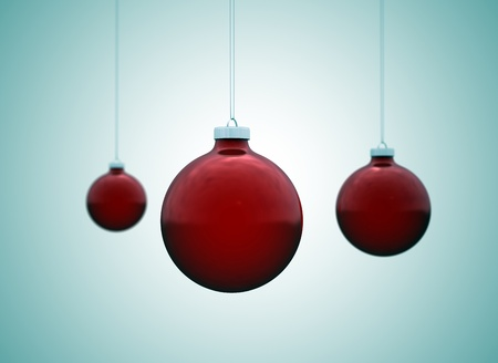 christmas ornament background  Stock Photo