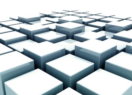 cubes building concept