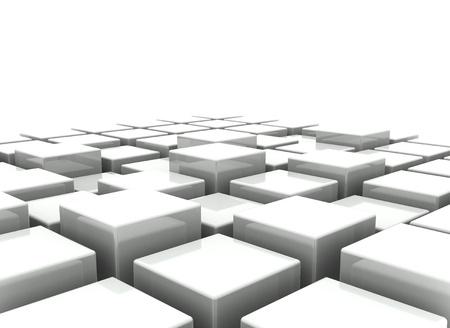 unendlich: Abstract Background 3d Bl�cke