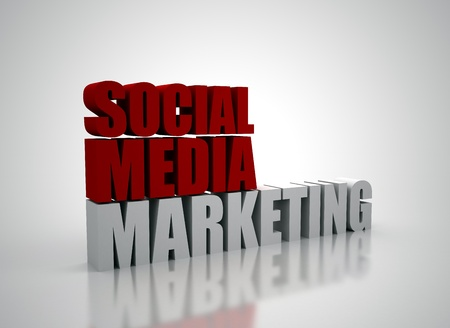 Social media marketing Stock Photo - 8378416