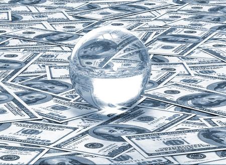 Financial concept - future photo