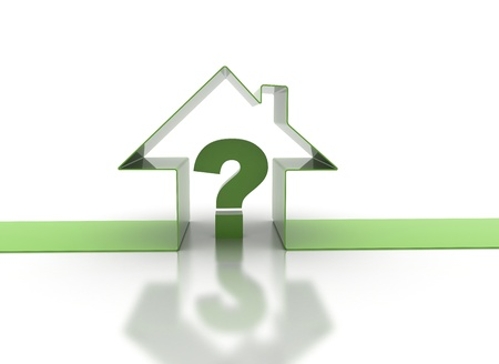 Real estate concept - to buy or not  photo
