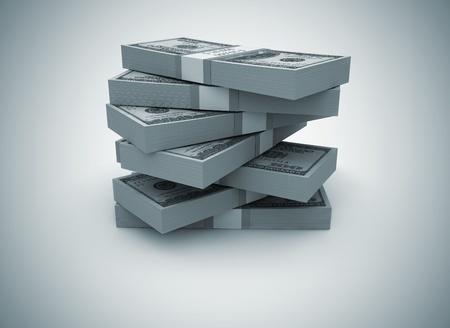 Big pile of cash Reklamní fotografie