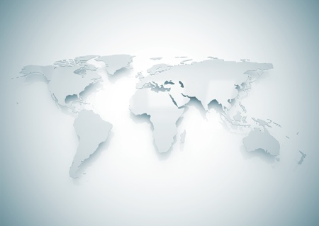 america map: World map
