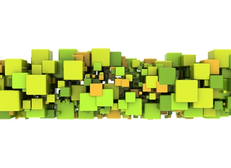 Abstract Cube Background  photo