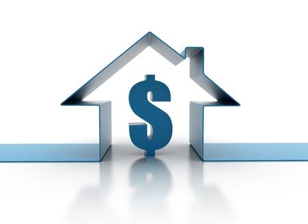 House loan cost illustration illustration