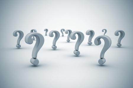 point d interrogation: Point d'interrogation de fond avec le DOF