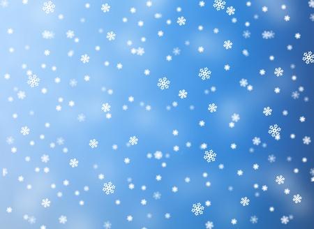Snowflake christmas background  photo