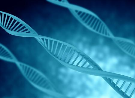adn humano: color de ilustraci�n azul modelo de ADN