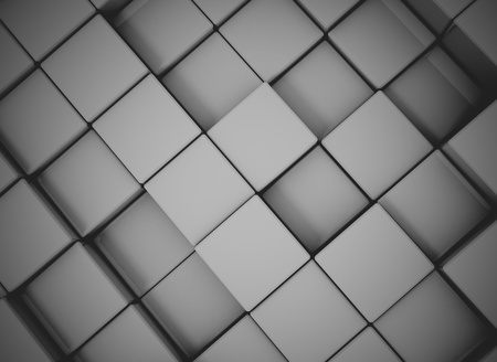 infinitely: Abstract cubes background