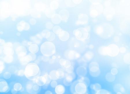 bokeh bleu abstraite fond clair.