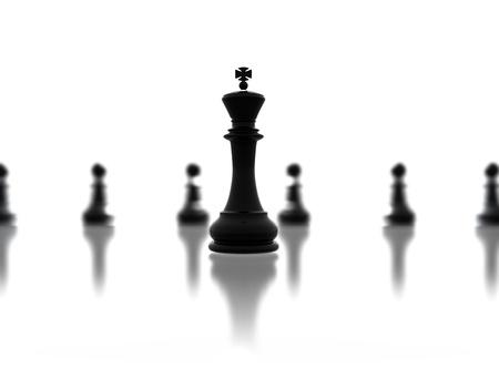 one piece: Leadership concept