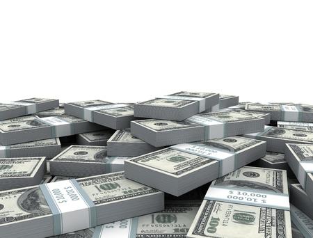 argent: Ant�c�dents de l'argent comptant Banque d'images