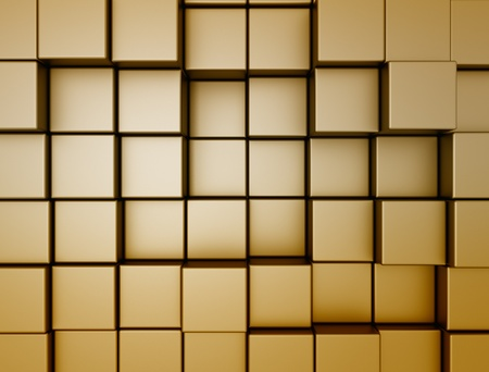 constructing: Abstract cube background