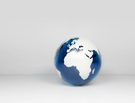 Glass world globe Stock Photo - 11180061