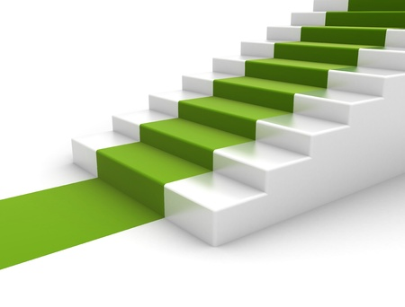 walk of fame: Steps environmental concept