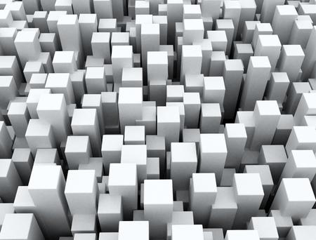 hi tech background: 3D cubes background