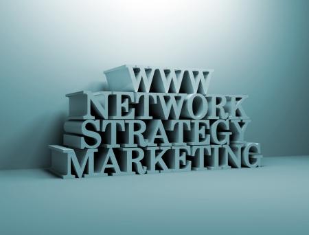 On line marketing strategy