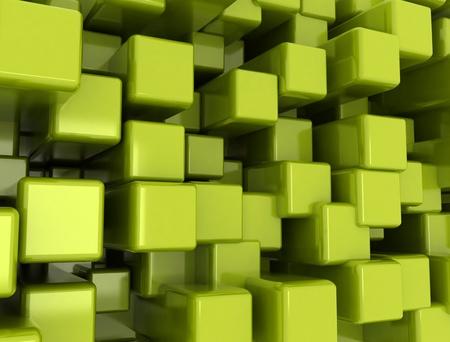 forme geometrique: Résumé de fond cube métallique