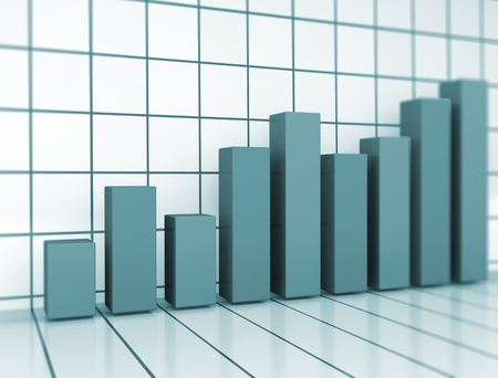 Business graph Stock Photo - 13384655
