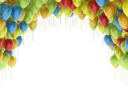 Colorful balloons  Standard-Bild