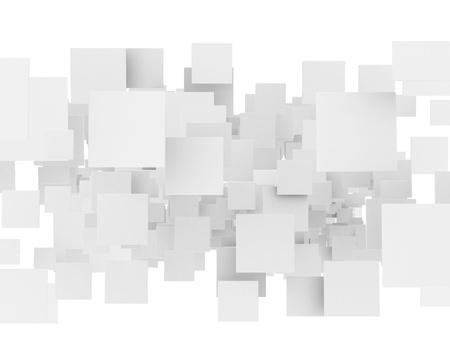 Abstract 3d sqaures  Standard-Bild