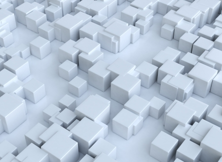 Abstract 3d cubes background photo