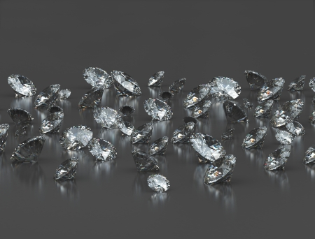 Group of diamonds  Stock Photo - 14109894