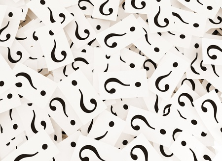 Question marks background Stock Photo - 14109826