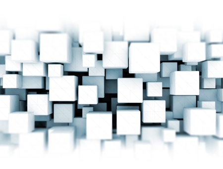 3D cubes background Stock Photo - 18429634