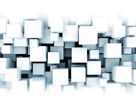 3D kubussen achtergrond