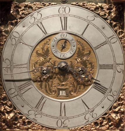 timepiece: Old retro clock