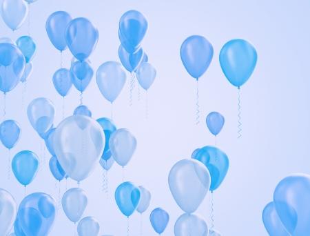 Balloons background  photo