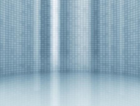 Abstracte digitale sqaures achtergrond