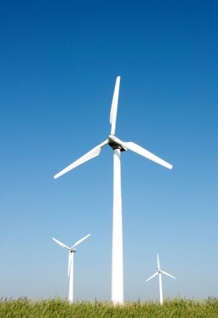 Wind turbines photo